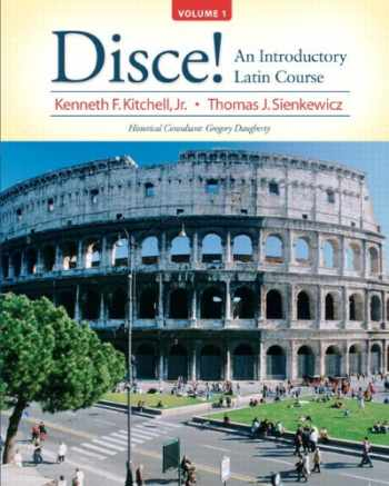 9780205997039-0205997031-Disce! An Introductory Latin Course, Volume 1 Plus MyLab Latin (multi-semester access) with eText -- Access Card Package