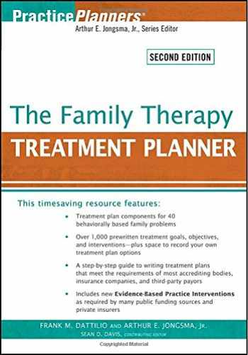 9780470441930-0470441933-The Family Therapy Treatment Planner