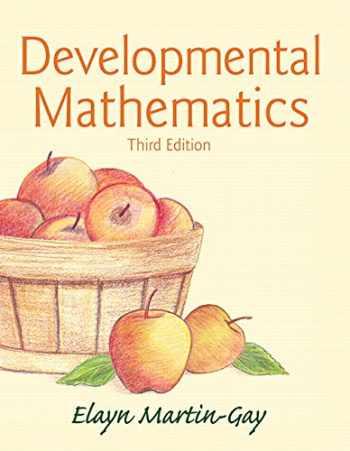 9780321936875-0321936876-Developmental Mathematics (3rd Edition)