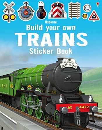 9781409581321-1409581322-Build your own trains Sticker Book