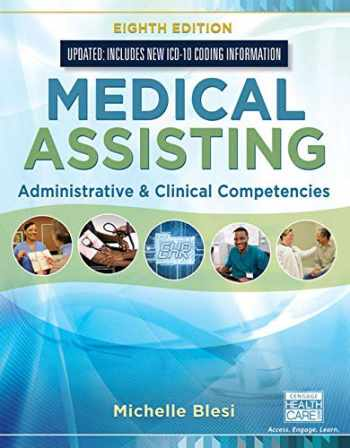 9780357011133-0357011139-Bundle: Medical Assisting: Administrative & Clinical Competencies (Update), 8th + MindTap Medical Assisting, 4 terms (24 months) Printed Access Card