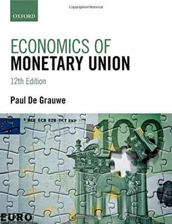 9780198805229-0198805225-Economics of Monetary Union