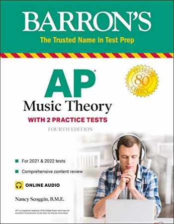 9781506264097-1506264093-AP Music Theory: with 2 Practice Tests (Barron's Test Prep)