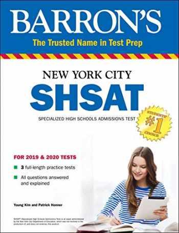 9781438012360-1438012365-SHSAT: New York City Specialized High Schools Admissions Test (Barron's Test Prep)