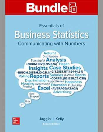 9781260696189-1260696189-GEN COMBO LOOSELEAF ESSENTIALS OF BUSINESS STATISTICS; CONNECT ACCESS CARD