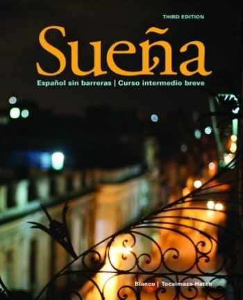 9781626801660-1626801665-Sueña, 3rd Edition, Student Edition with Supersite and WebSAM Access