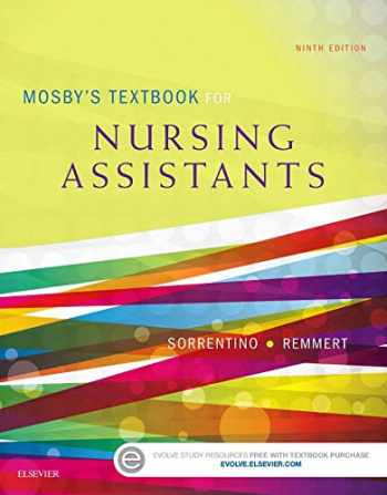 9780323319751-0323319750-Mosby's Textbook for Nursing Assistants - Hard Cover Version