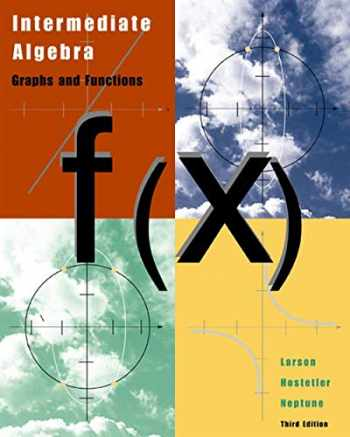 9780618218783-0618218785-Intermediate Algebra: Graphs and Functions, Third Edition