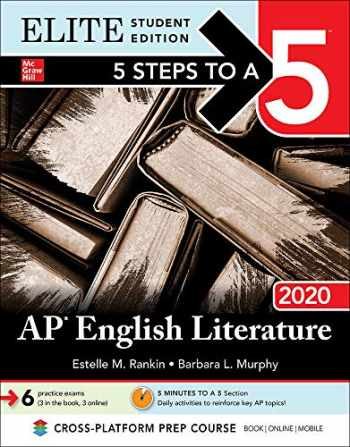 9781260455687-1260455688-5 Steps to a 5: AP English Literature 2020 Elite Student edition