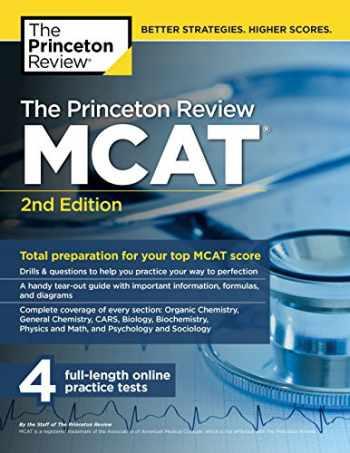 9781101920541-1101920548-The Princeton Review MCAT, 2nd Edition: Total Preparation for Your Top MCAT Score (Graduate School Test Preparation)
