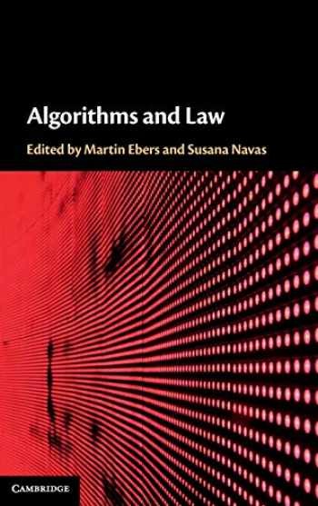 9781108424820-1108424821-Algorithms and Law