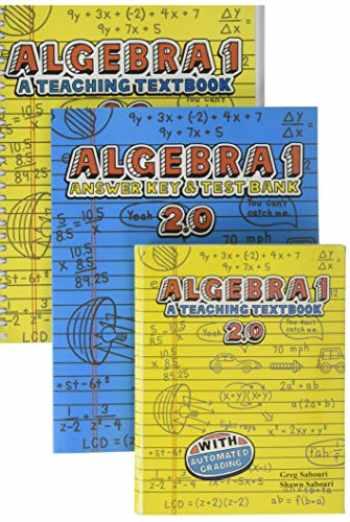 9780983581208-0983581207-Teaching Textbooks Algebra 1 Complete Set 2.0