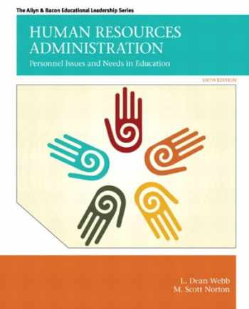 9780132678094-0132678098-Human Resources Administration: Personnel Issues and Needs in Education (6th Edition) (Allen & Bacon Educational Leadership)