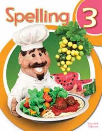9781628564419-1628564415-BJU Press Spelling 3 Worktext
