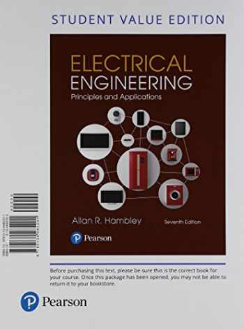 9780134702193-0134702190-Electrical Engineering: Principles & Applications, Student Value Edition + Mastering Engineering with Pearson eText -- Access Card Package (7th Edition)