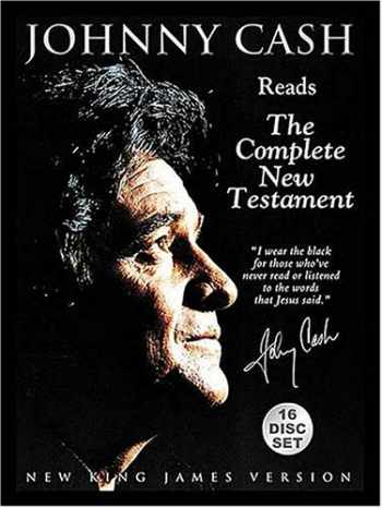 9780718006778-0718006771-Johnny Cash Reads the Complete  New Testament: New King James Version