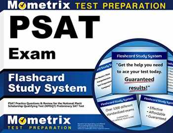 9781610727914-1610727916-PSAT Exam Flashcard Study System: PSAT Practice Questions & Review for the National Merit Scholarship Qualifying Test (NMSQT) Preliminary SAT Test (Cards)