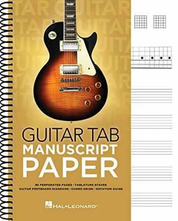 9781540051363-1540051366-Guitar Tab Manuscript Paper