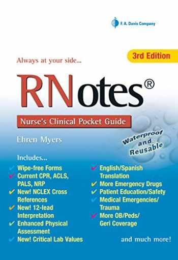 9780803623132-0803623135-RNotes®: Nurse's Clinical Pocket Guide