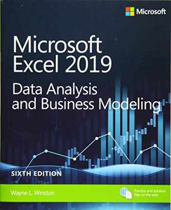 9781509305889-1509305882-Microsoft Excel 2019 Data Analysis and Business Modeling (Business Skills)