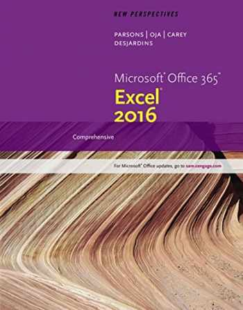 9781305880405-1305880404-New Perspectives Microsoft Office 365 & Excel 2016: Comprehensive