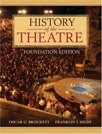 9780205473601-0205473601-History of the Theatre, Foundation Edition