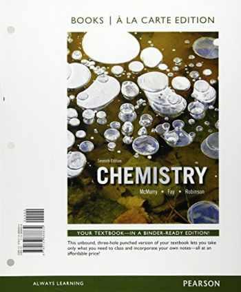 9780133886634-0133886638-Chemistry, Books a la Carte Edition (7th Edition)