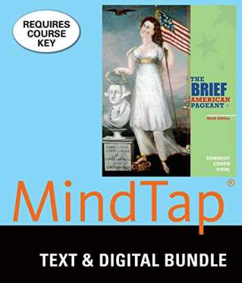 9781337124645-1337124648-Bundle: The Brief American Pageant: A History of the Republic, 9th + MindTap History, 2 terms (12 months) Printed Access Card