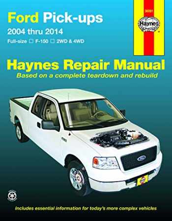 9781620920947-1620920948-Ford full-size Gas F-150 2WD & 4WD (04-14) Haynes Repair Manual