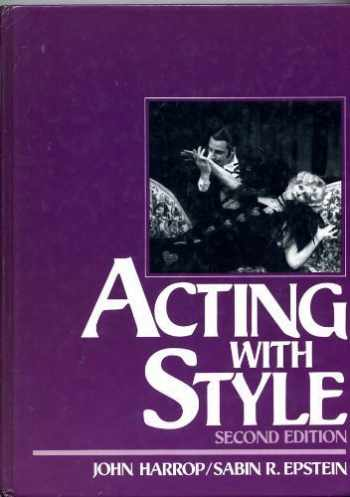 9780130035912-0130035912-Acting With Style