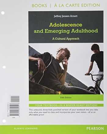 9780205899517-020589951X-Adolescence and Emerging Adulthood, Books a la Carte Edition