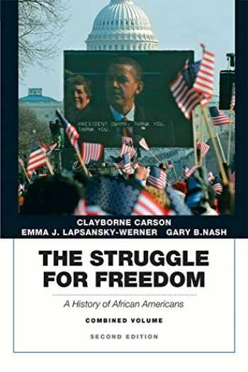9780205832408-0205832407-The Struggle for Freedom: A History of African Americans, Concise Edition, Combined Volume (Penguin Academic Series) (2nd Edition)