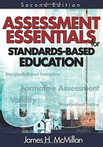 9781412955515-1412955513-Assessment Essentials for Standards-Based Education