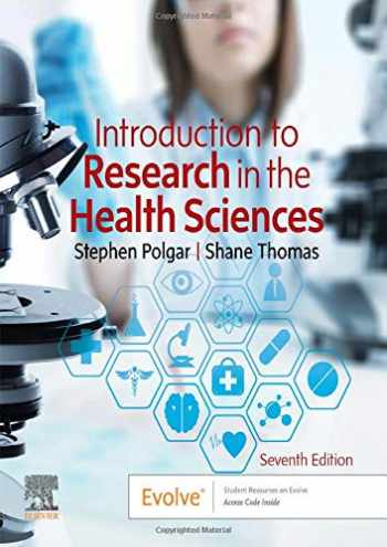 9780702074936-0702074934-Introduction to Research in the Health Sciences