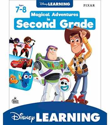 9781483858685-1483858685-Disney Learning Magical Adventures in Second Grade Workbook - 200+ Activities in Phonics, Comprehension, Measurment, Multiplication, Division and more (256 pgs)