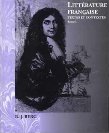 9780030398490-0030398495-Litterature Francaise: Textes Et Contextes (Invit a la Litterature France)