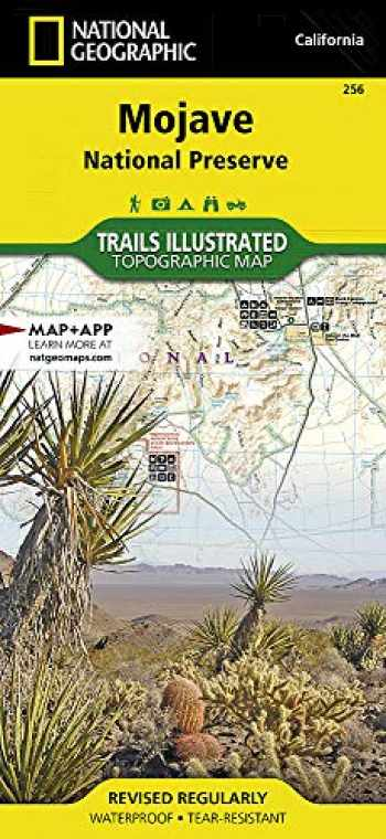 9781566953832-1566953839-Mojave National Preserve (National Geographic Trails Illustrated Map, 256)