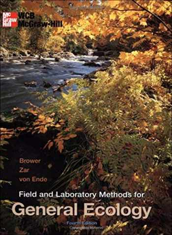 9780697243584-0697243583-Field and Laboratory Methods for General Ecology