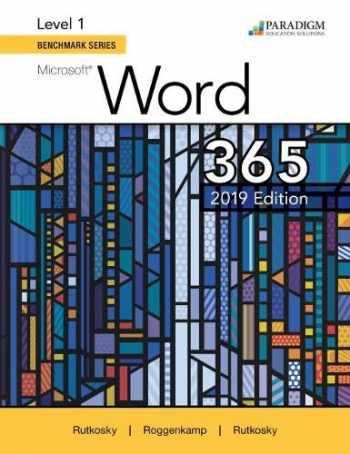 9780763887162-0763887161-Benchmark Series: Microsoft Word 2019 Level 1