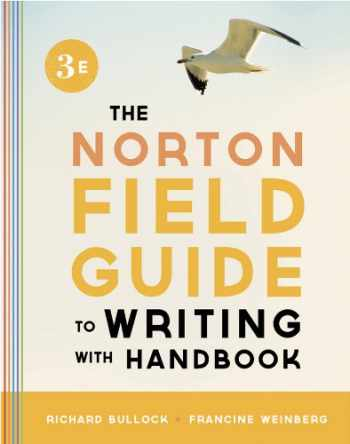 9780393919585-0393919587-The Norton Field Guide to Writing, with Handbook (Third Edition)