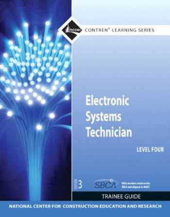 9780132578219-0132578212-Electronic Systems Technician Level 4 Trainee Guide, Paperback (3rd Edition)