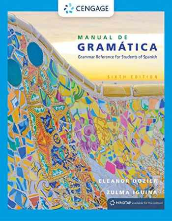 9781305658226-1305658221-Manual de gramática (Spanish Grammar Review)
