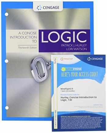 9780357267172-0357267176-Bundle: A Concise Introduction to Logic, Loose-leaf Version, 13th + MindTapV2.0, 1 term Printed Access Card