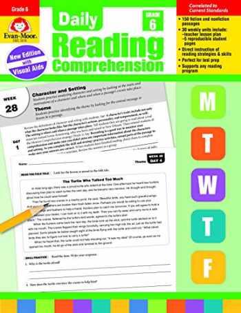 9781629384795-1629384798-Evan-Moor Daily Reading Comprehension, Grade 6 Teaching Supplement - Homeschooling & Classroom Resource Workbook