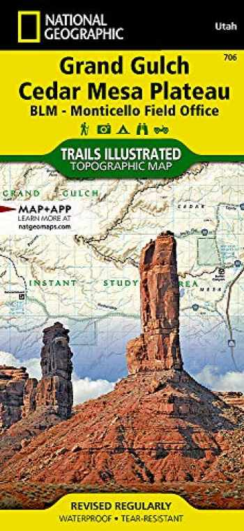 9781566953078-1566953073-Grand Gulch, Cedar Mesa Plateau [BLM - Monticello Field Office] (National Geographic Trails Illustrated Map, 706)