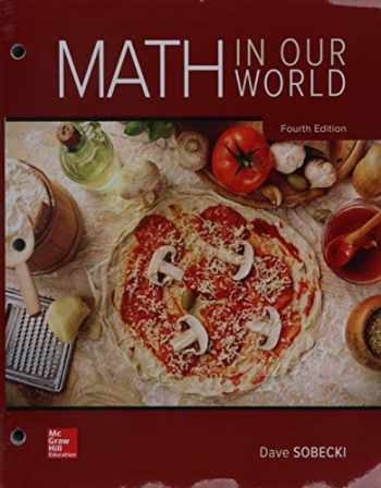 9781260487466-1260487466-Loose Leaf for Math in Our World with Connect Math Hosted by ALEKS Access Card