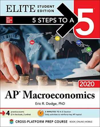 9781260454871-1260454878-5 Steps to a 5: AP Macroeconomics 2020 Elite Student Edition