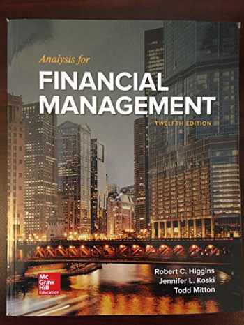 9781259918964-1259918963-Analysis for Financial Management