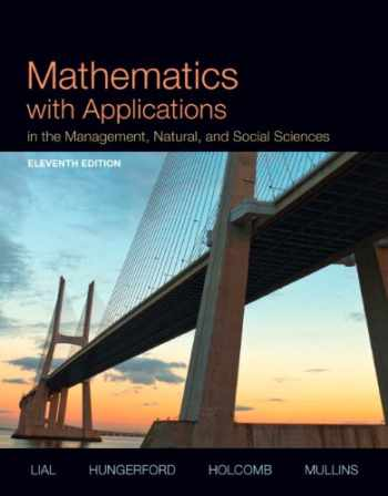 9780321935441-0321935446-Mathematics with Applications In the Management, Natural, and Social Sciences Plus NEW MyLab Math with Pearson eText -- Access Card Package (11th Edition)