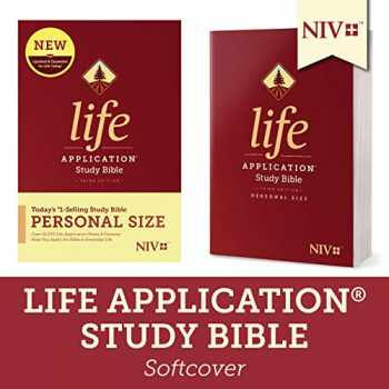 9781496440129-1496440129-Tyndale NIV Life Application Study Bible, Third Edition, Personal Size (Softcover) – New International Version – Personal Sized Study Bible to Carry with you Every Day